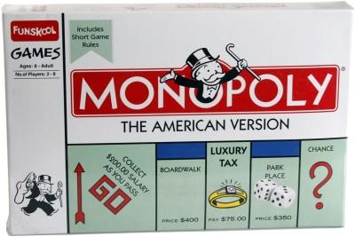 Funskool Monopoly - The American Version Board Game