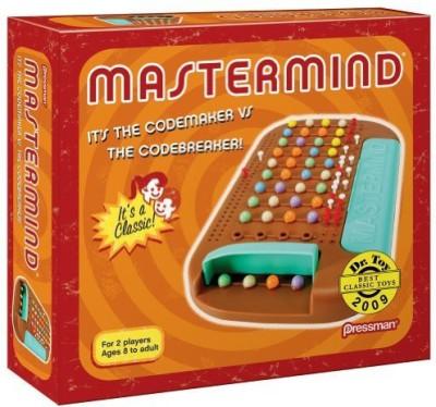 Pressman Toy Retro Mastermind Board Game