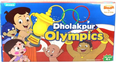 Brands Chhota Bheem Dholakpur Olympics Board Game