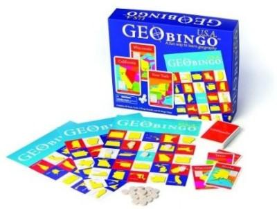Geotoys Geobingo Usa Educational Geography Board Game