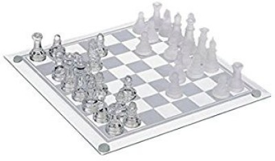 glass chess set Best Chess Setglass Editioncomes With Chess Set And Board Game