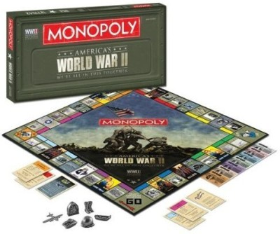 Hasbro Monopoly World War Ii We Are All In This Together Board Game