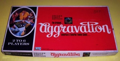 LAKESIDE GAMES-AGGRAVATION Rare Original Vintage Deluxe Party Edition