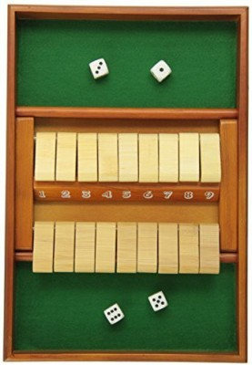 CHH Double Sided 9 Number Shut The Box Board Game