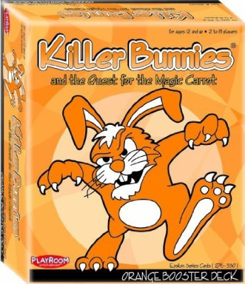 Playroom Entertainment Killer Bunnies Orange Booster Board Game