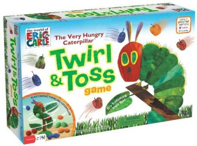 University Games The Very Hungry Caterpillar Twirl And Toss Educational Board Game