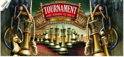 Ratnas Tournament Chess Sr Board Game