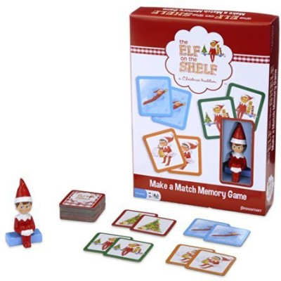 Pressman Toy Elf On The Shelf Makeamatch Based On The Bestselling Books Board Game