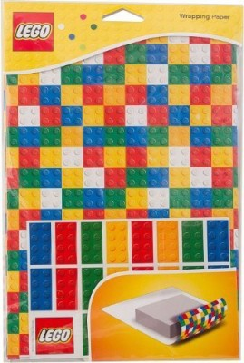 Lego Gift Wrapping Paper Bricks Set Board Game