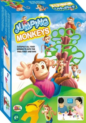 Ekta JumpingMonkeys Big Board Game Family Game Board Game