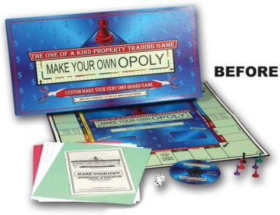 TDC Games Make Your Own Opoly Board Game