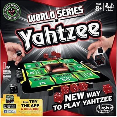Hasbro World Series of Yahtzee Game Board Game