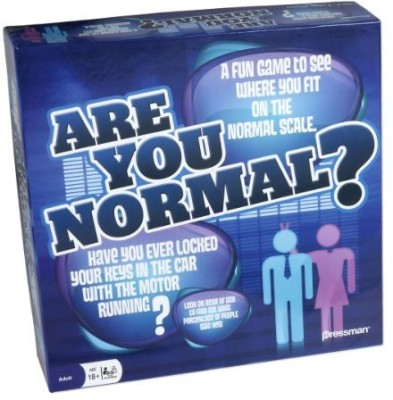 Pressman Toy Are You Normalamerica? Board Game