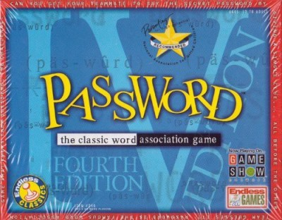 Endless Classics Password The Classic Word Association 4Th Edition Board Game