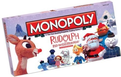 USAopoly Monopoly Rudolph The Rednosed Reindeer Collector,S Edition Board Game