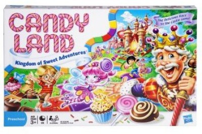 Hasbro Candy Land The Kingdom Of Sweets Board Game