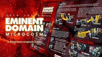 Tasty Minstrel Eminent Domain Microcosm Board Game