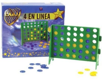 Linea Boca Juniors Boca Juniors 4 En 1 Mini Size Connect 4 Soccer Team Board Game
