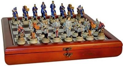 WorldWise Chess Civil War Generals Chess Set Board Game