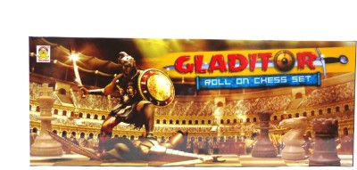 Techno Gladitor Roll On Chess Set Board Game