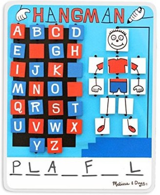 Melissa & Doug Travel Hangman Board Game