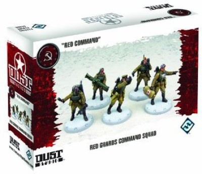 Fantasy Flight Games Dust Tactics Red Guards Command Squad Board Game
