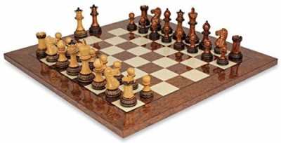 The Chess Store Parker Staunton Chess Set In Burnt Golden Rosewood Board Game