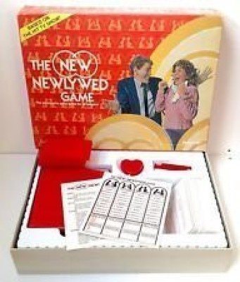 Pressman Toy The New Newlywed Board Game
