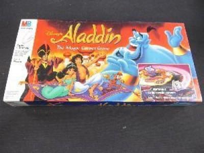 Disney S Aladdin The Magic Carpet Board Game
