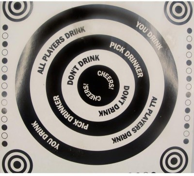 Urban Chakkar Spinning Drinking Game With Shot Glasses Board Game