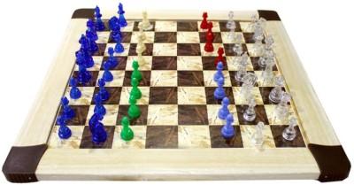 Scrazy Chess And Ludo Board Game