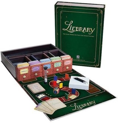 Discovery Bay Liebrary Board Game
