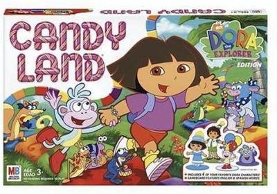 Hasbro Candy Land Dora The Explorer Board Game