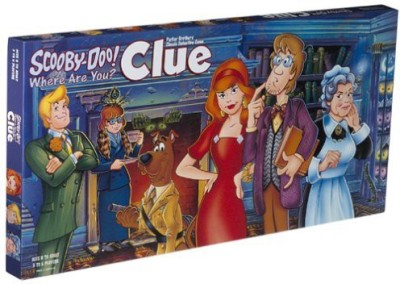Giftapolis Scoo Doo Clue Board Game