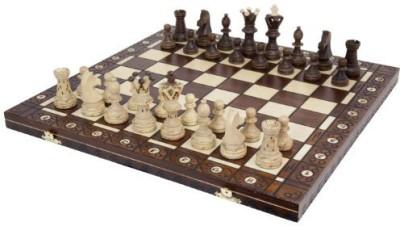 Wegiel Chess Set Ambassador High Detail European Wooden Handmade Board Game