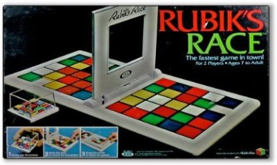 IDEAL Toy Corporation Rubik,S Race The Fastest In Town Board Game