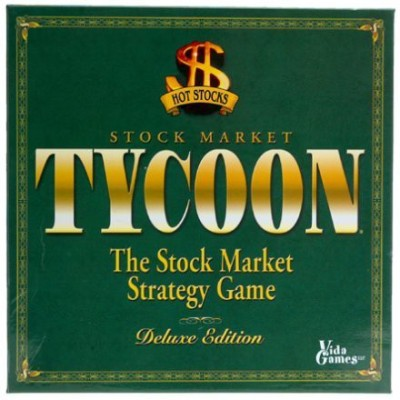 White Mountain Puzzles Tycoon The Stock Market Strategy Deluxe Edition Board Game