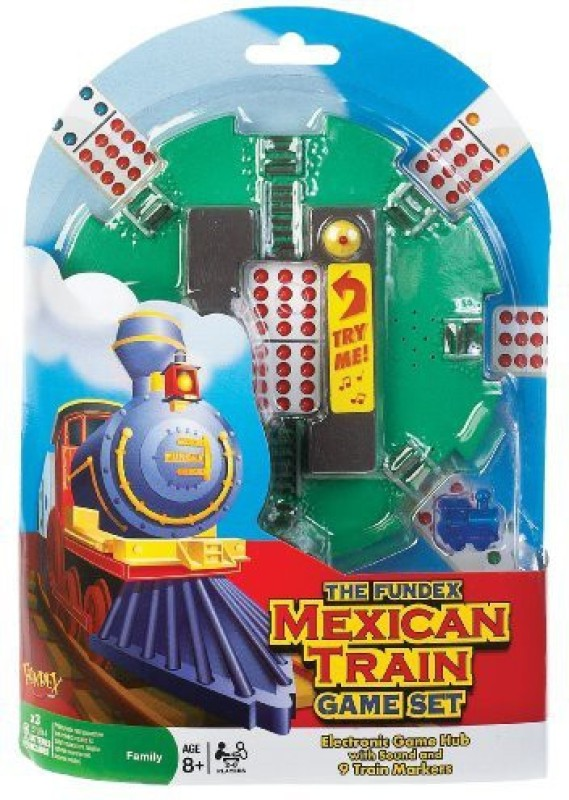 Ideal Mexican Train Set Board Game