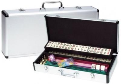 CHH Western Mah Jong In Aluminum Case Board Game