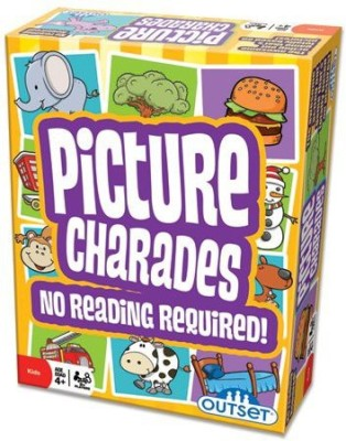 Outset Media Picture Charades For Kids No Reading Required Board Game