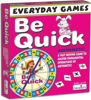 Creative's Everyday Games - Be Quick - Arithmetic Board Game