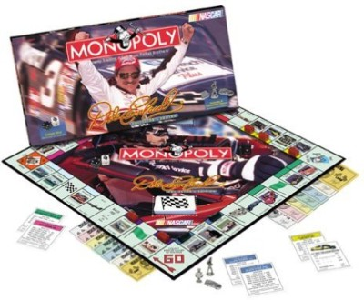 Masters of the Universe Dale Earnhardt Monopoly Nascar Special Editon Board Game