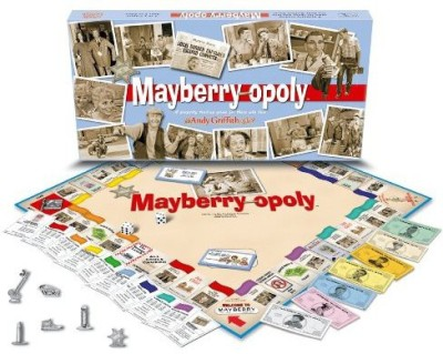 Late for the Sky Mayberry-Opoly Board Game