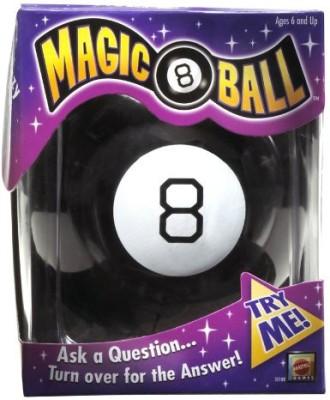 Mattel Games 30188 Magic 8 Ball Board Game
