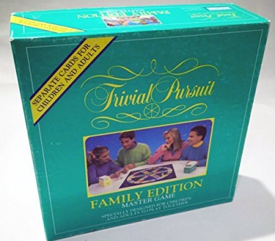 Hasbro Trivial Pursuit Family Edition Master Board Game