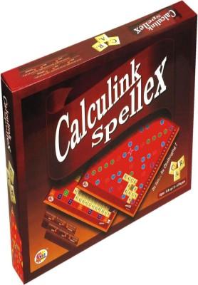 Promobid Calculink Spellex Board Game