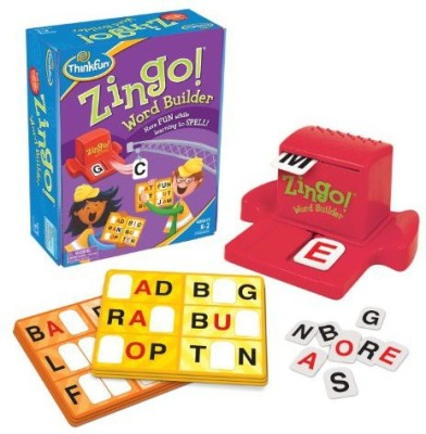 Think Fun Zingo Word Builder Board Game