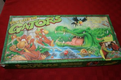 Western Publishing Don,T Feed The Gators The Of Snaphappy Gators Board Game