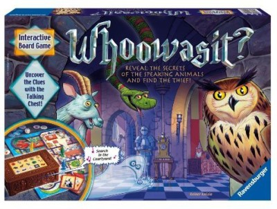 Ravensburger who was it? Award winning electronics Board Game