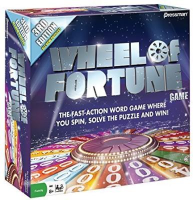 Pressman Toy 3Rd Edition Wheel Of Fortune Board Game